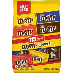 Chocolate M&M's Variedades 115 un