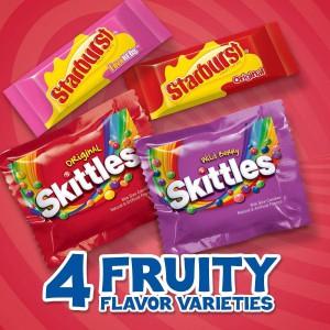 Dulces Starburst y Skittles