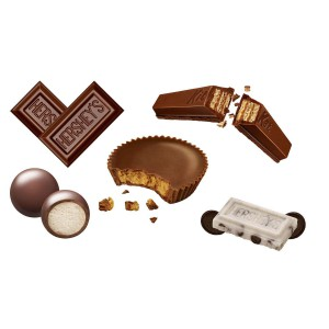 Surtido de chocolate Hershey's Factory Favourites