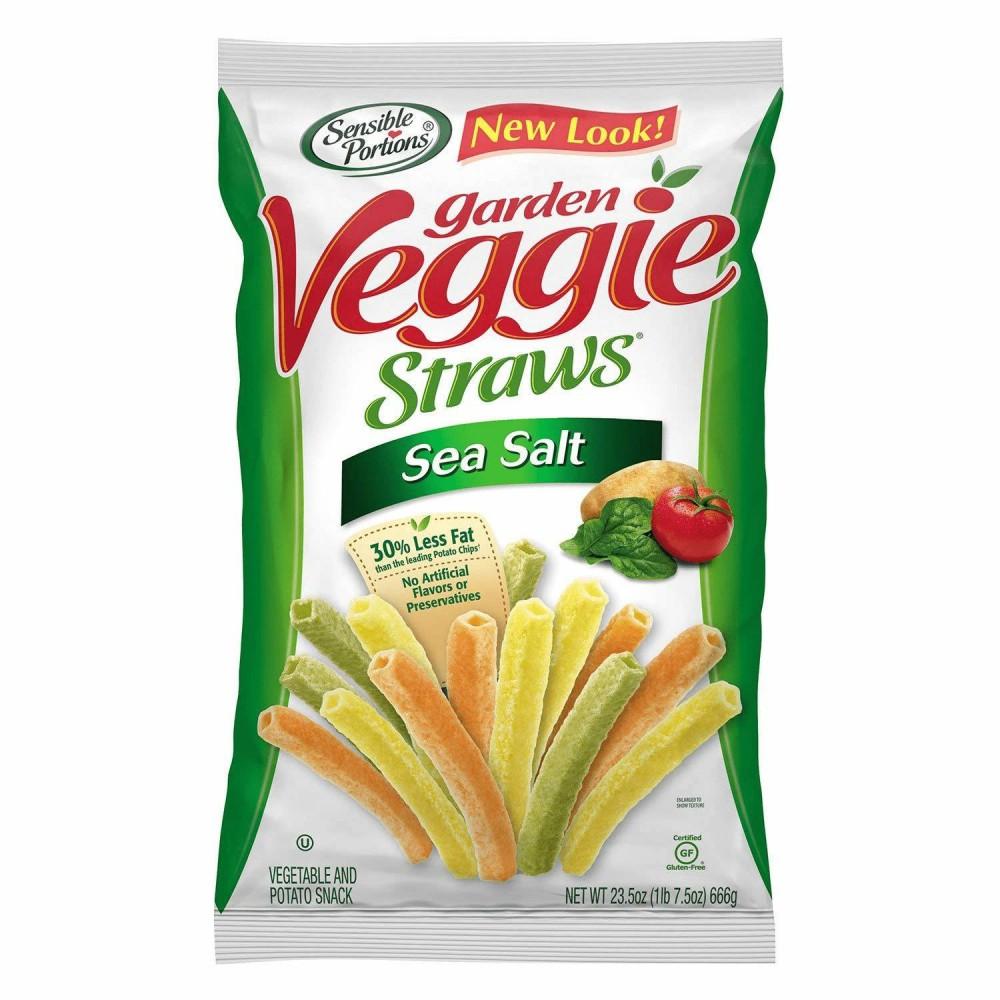 Sensible Portions Garden Veggie Straws With Sea Salt