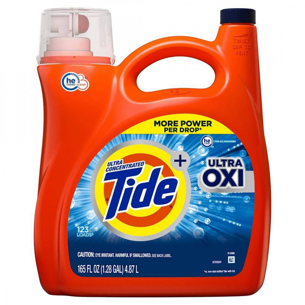 Detergente Tide Ultra Oxi Liquid Laundry
