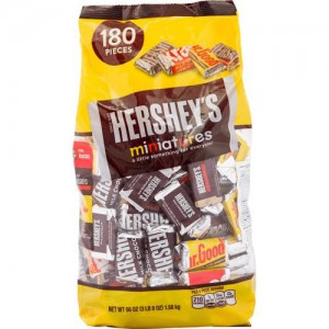 Chocolate Hershey's Mini Variedades 180 un
