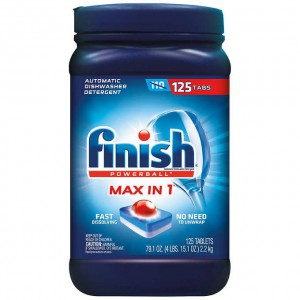Detergente Para Lavavajillas Finish 125