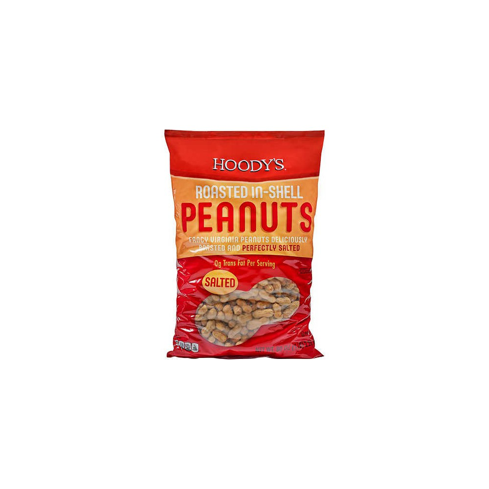 Hoody's Roasted In-Shell Peanuts, Salted