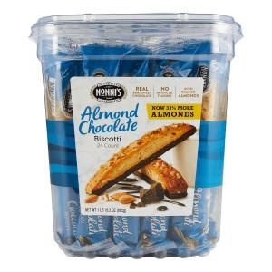 Nonni's Almond Chocolate Biscotti