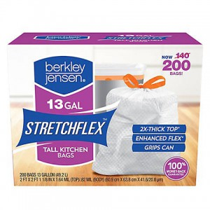 Berkley Jensen Stretchflex Tall Kitchen Bags