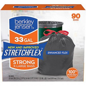 Bolsas de Basura Berkley Jensen Stretchflex Strong X-Large Bags