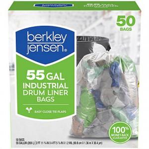 Berkley Jensen Industrial Drum Liner Bags