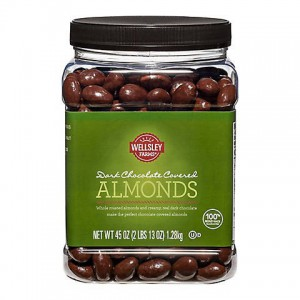 Wellsley Farms Dark Chocolate Covered Almonds