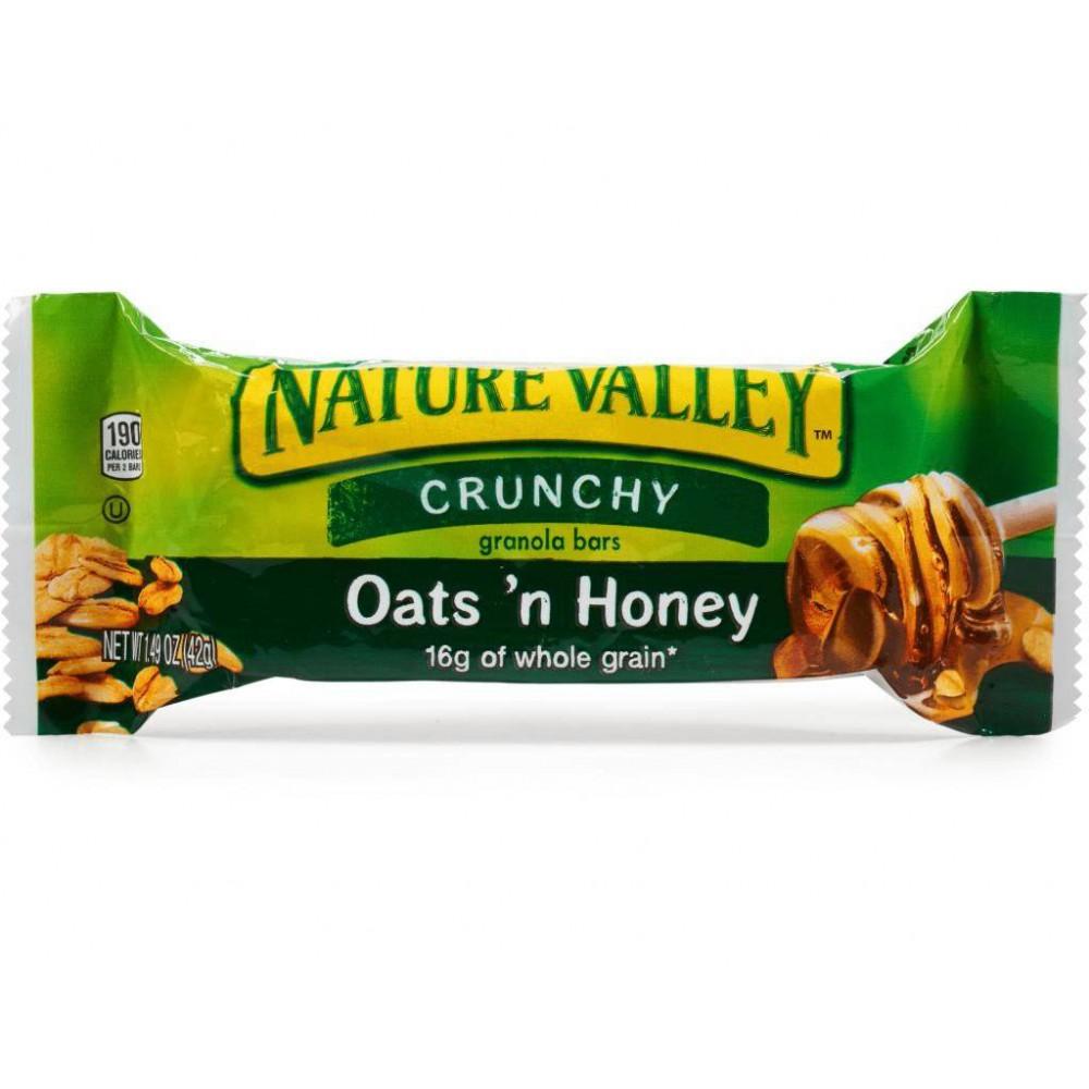 Nature Valley Oats'n Honey Crunchy Granola Unitario