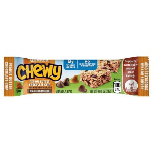 Quaker Chewy Granola Bar, Peanut Butter Chips