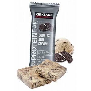 Kirkland Signature Protein Bar, Cookies and Cream