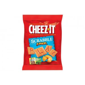 Mini galletas de queso Keebler Cheez-It Scrabble