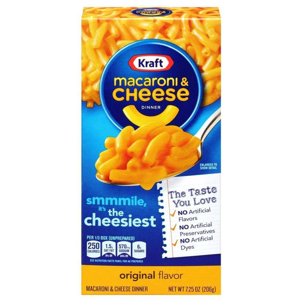Kraft Original Macaroni & Cheese Dinner
