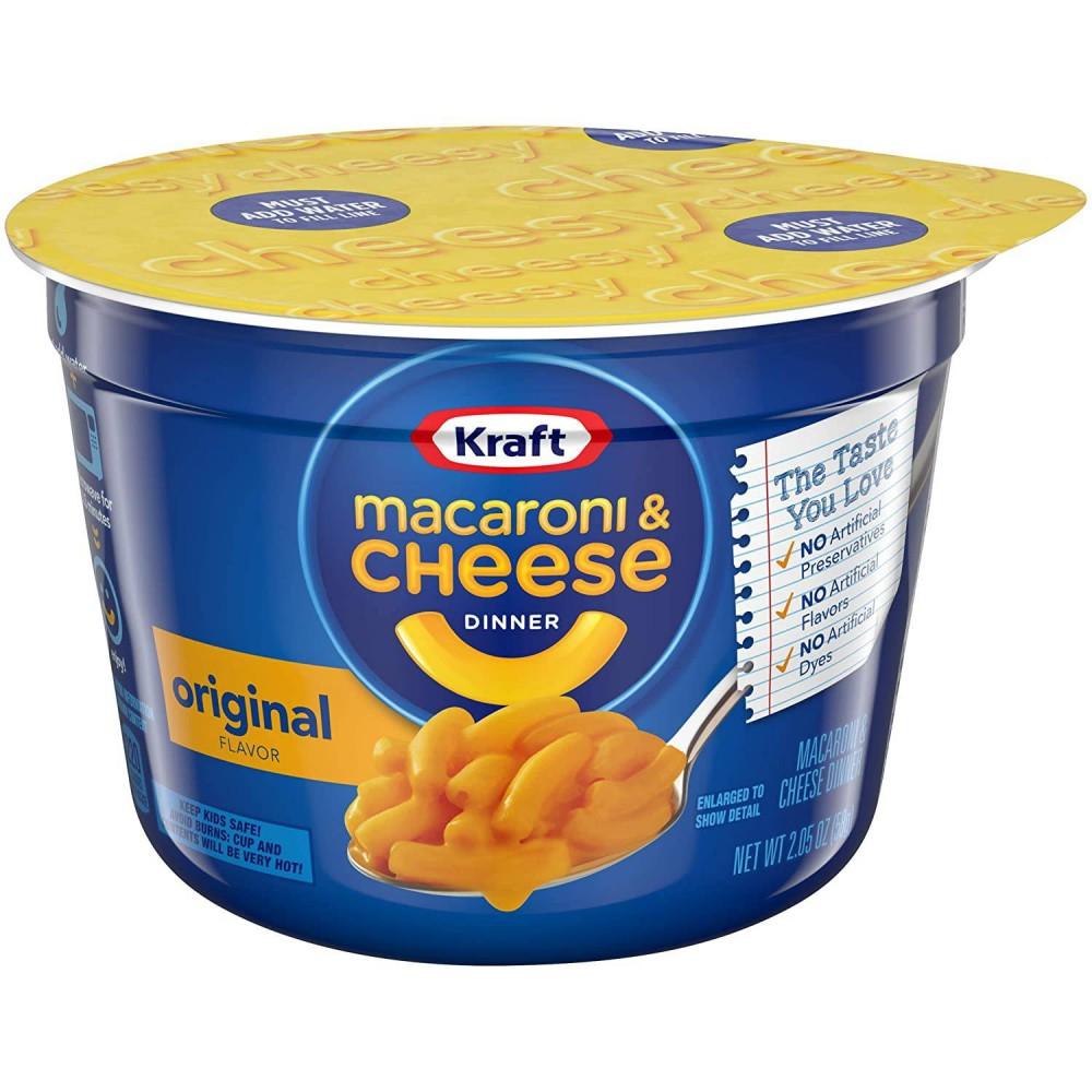 Kraft Macaroni & Cheese Dinner Micro Cup