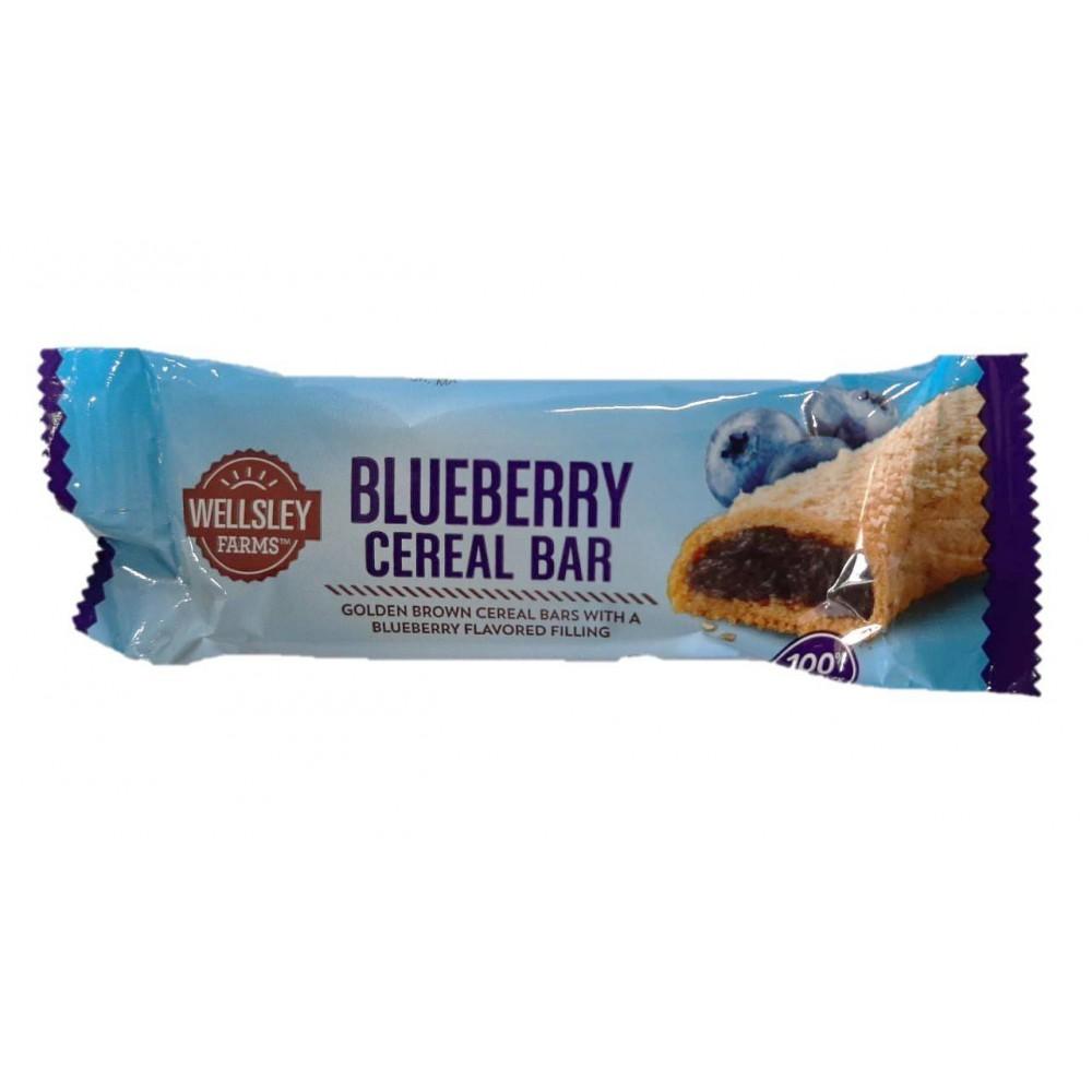 Wellsley Farms Fruit & Grain Cereal Bar Blueberry