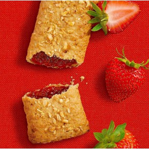 Wellsley Farms Fruit & Grain Cereal Bar Strawberry