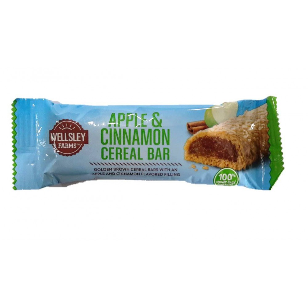 Wellsley Farms Fruit & Grain Cereal Bar Apple Cinnamon