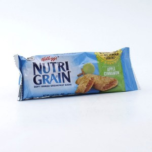 Barra Nutri Grain Manzana Canela