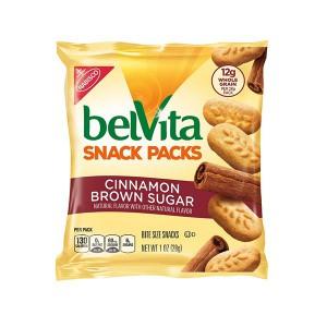 Galletas Bite Azúcar Morena y Canela Belvita 28 gr