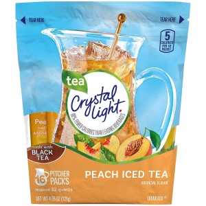 Té helado de durazno Crystal Light