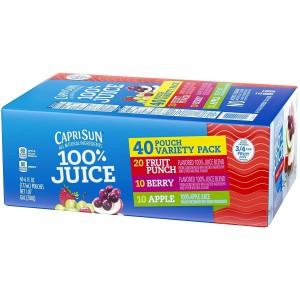 Capri Sun 100% Juice Variety Pack