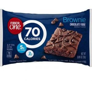 Fiber One Chocolate Fudge Brownie