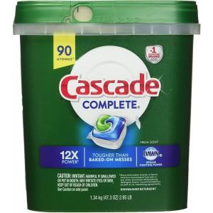Detergente para lavavajillas Cascade en Cápsulas