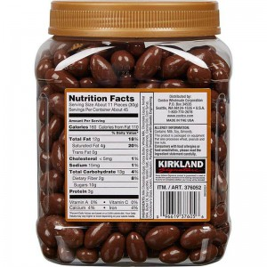 Almendras Bañadas en Chocolate Kirkland