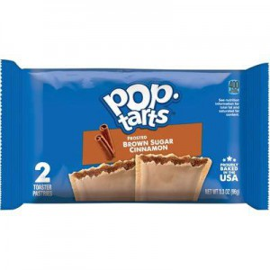 Kellogg's Poptarts Brown Sugar Cinnamon
