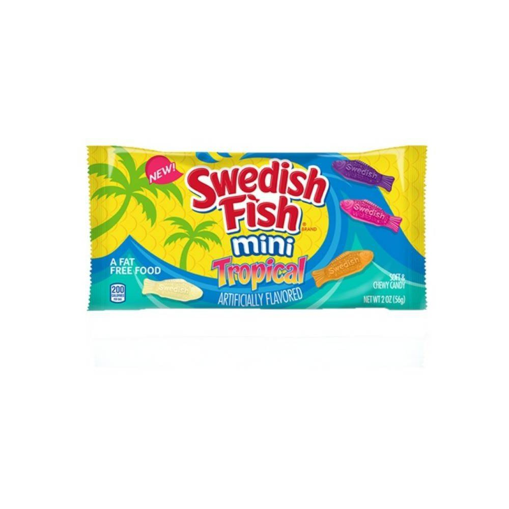 Swedish Fish Mini Tropical Soft & Chewy Candy