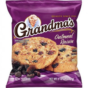 Galletas Grandma's oatmeal raisin