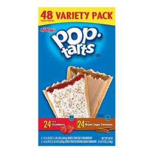 Pack de Pop Tarts Kellogg's Sabores Frutilla y Canela con Azúcar Morena