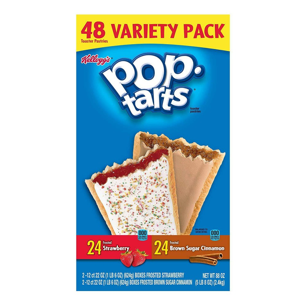 Kellogg's Pop Tarts Strawberry and Brown Sugar Variety Pack