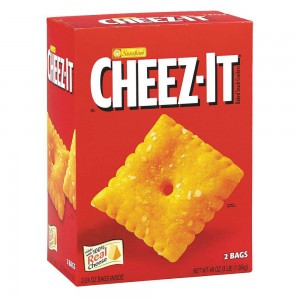 Galletas de Queso Cheez-it.