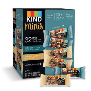 Barritas Kind Minis en dos variedades