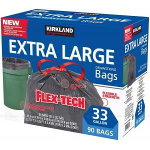 Bolsa de basura Flex-Tech extra larga, Kirkland Signature