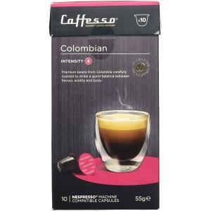 Cápsulas de Café para Nespresso Caffesso Colombiano