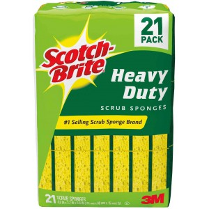 Esponja Verde Heavy Duty Scotch Brite