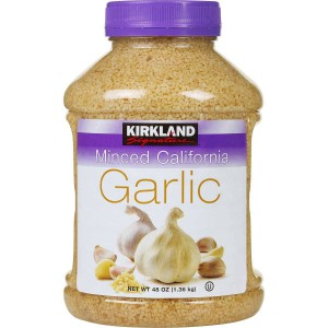 Kirkland Signature Minced California Garlic