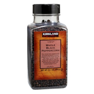 Kirkland Signature Whole Black Peppercorn