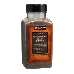 Pimienta Negra Molida Fina Kirkland