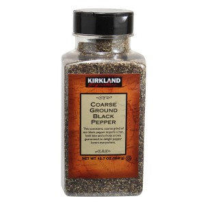 Kirkland Signature Coarse Ground Black Pepper