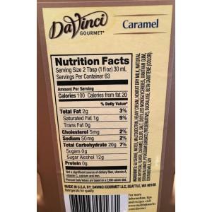 Jarabe Caramelo sin Azúcar DaVinci