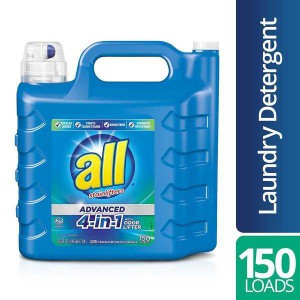 Detergente líquido All Advanced 4-in-1