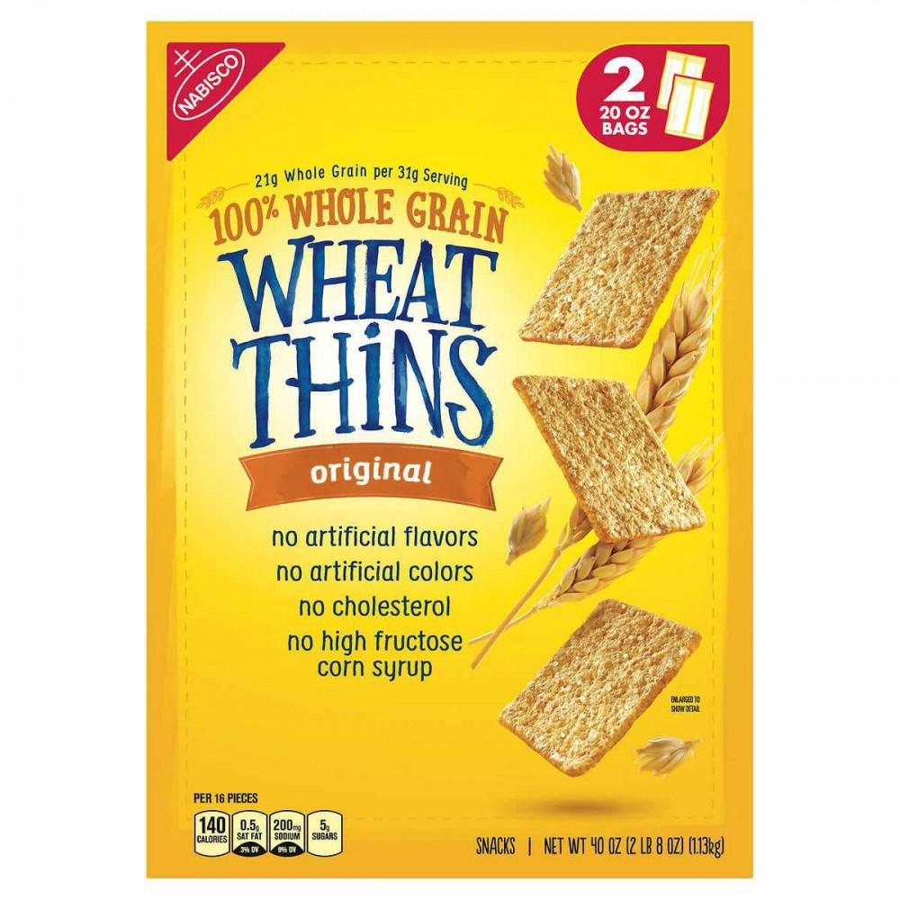 Wheat Thins Crackers Grano Entero