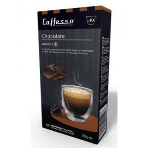 Capsulas de Café para Maquinas Nespresso, Caffesso Chocolate