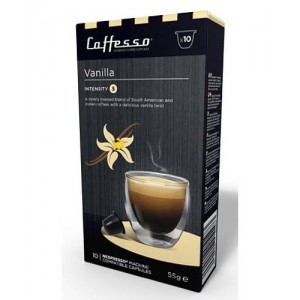Cápsulas de café para máquinas Nespresso, Caffesso Vainilla