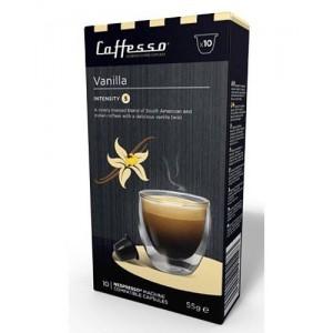 Cápsulas de Café para Nespresso Caffesso Vainilla