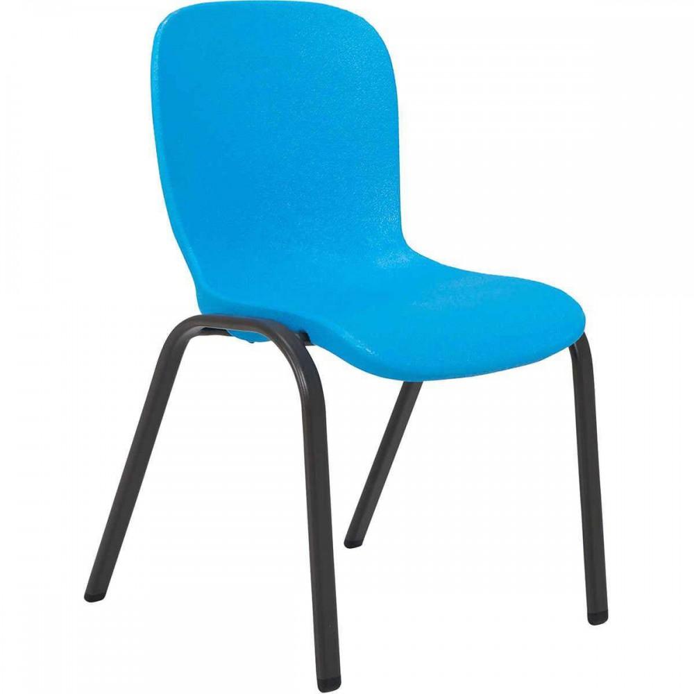 color azul Silla infantil URBNLIVING Camelia pl/ástico, 2 unidades